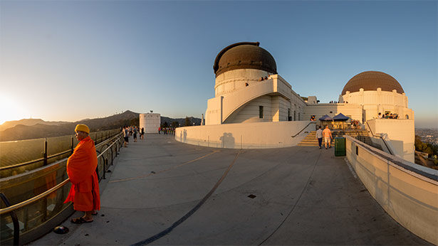 Griffith Park Observatory, photo by Jim Newberry.