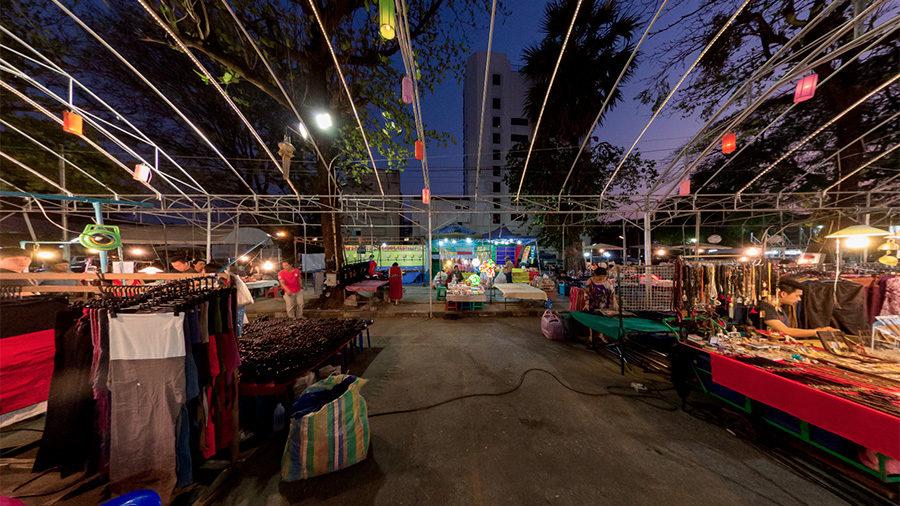 Anusarn Night Market, Chiang Mai, Thailand